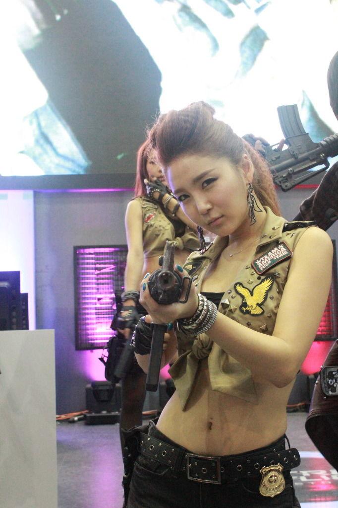bang eun young sexy gstar 2011 cosplay