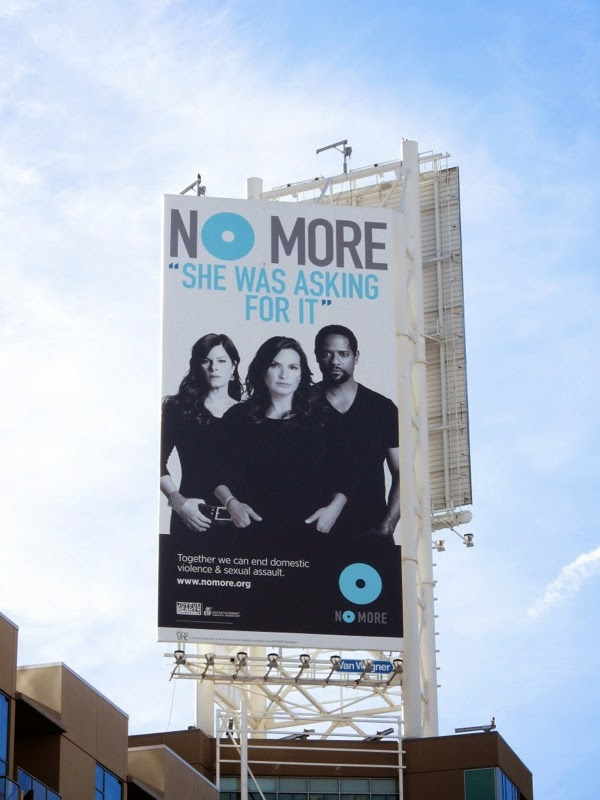 No More domestic sexual violence billboard