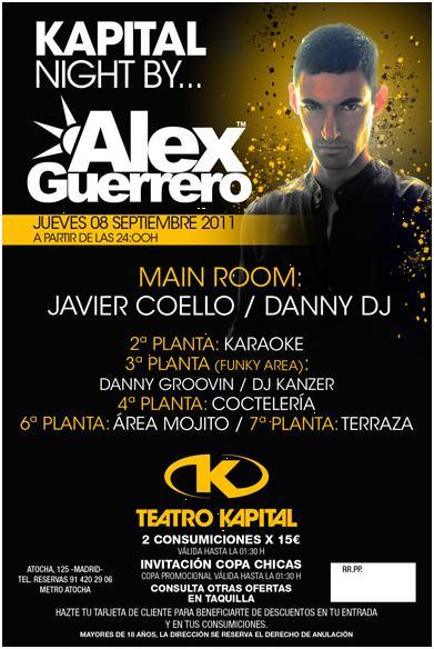 Madrid noche kapital jueves 8 viernes 9 for Kapital jueves gratis