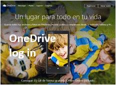 OneDrive - login