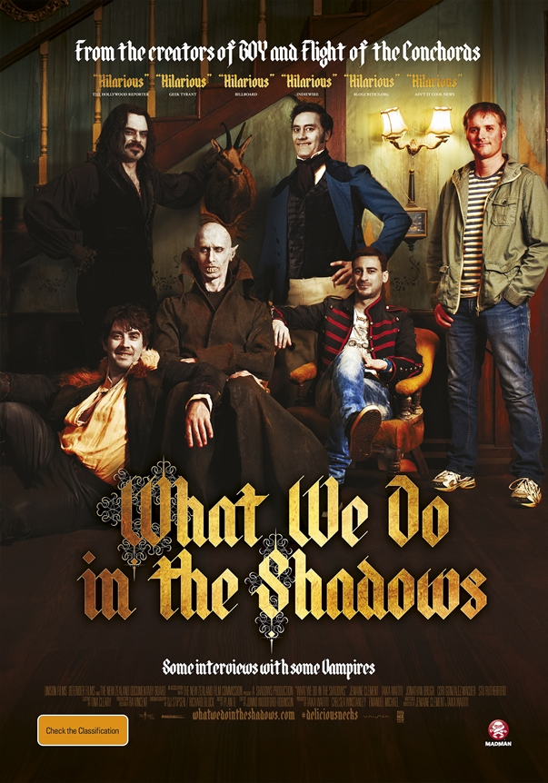Póster: What We Do in the Shadows