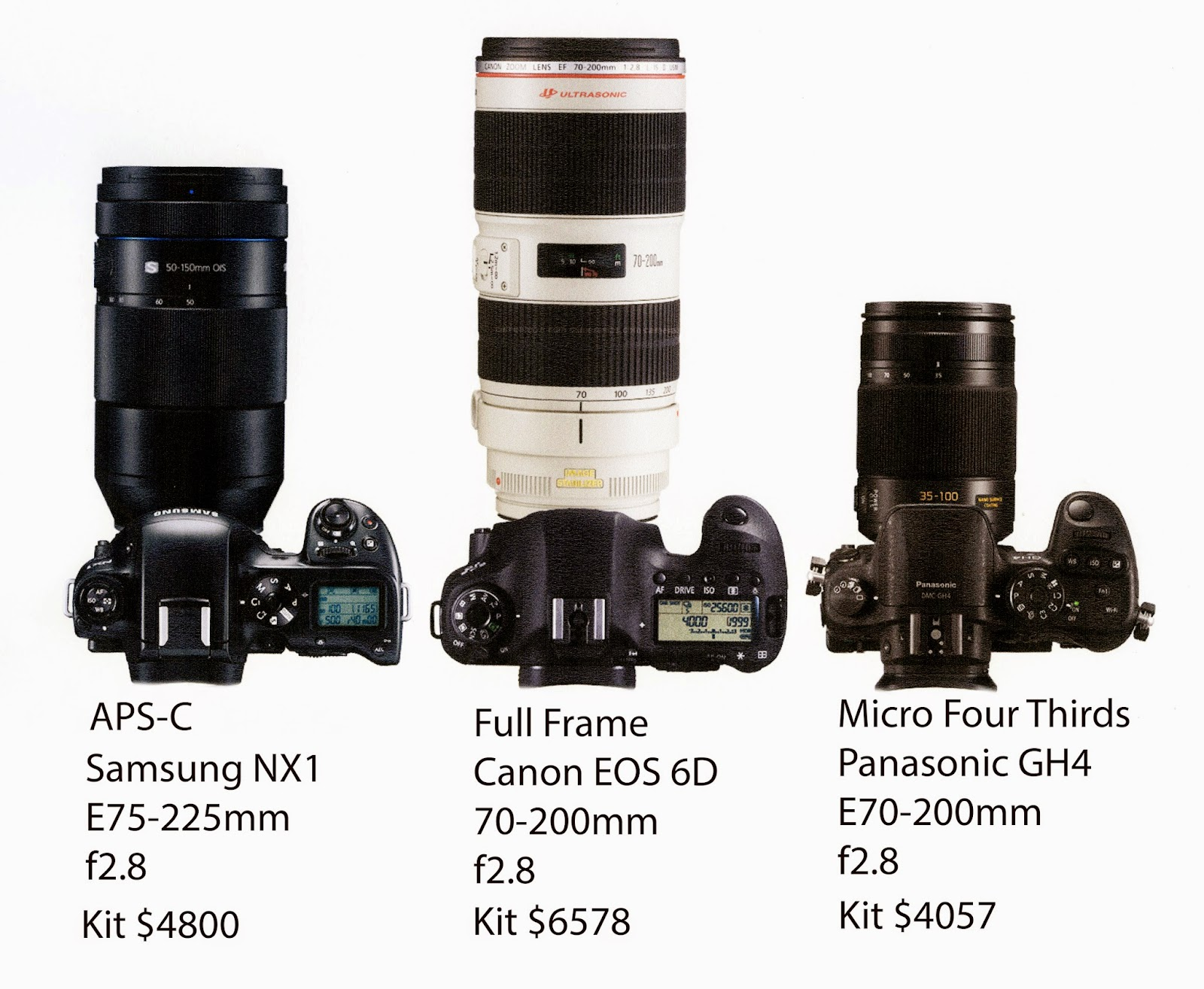 Will APS-C become obsolete ? | Camera Ergonomics