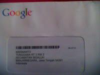 Surat cinta Google1