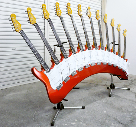 unique guitars from japan
