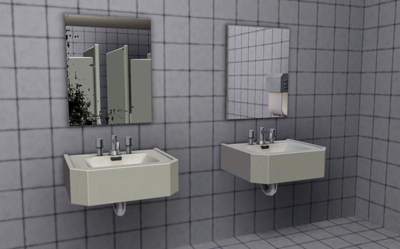 public bathroom mirror. Public Restroom Mirrors By MacTheKat. Download At Pink Rabbit Bathroom Mirror