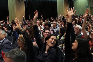 Camino hacia el Entusiasmo Partyconferencia en Zaragoza Activa