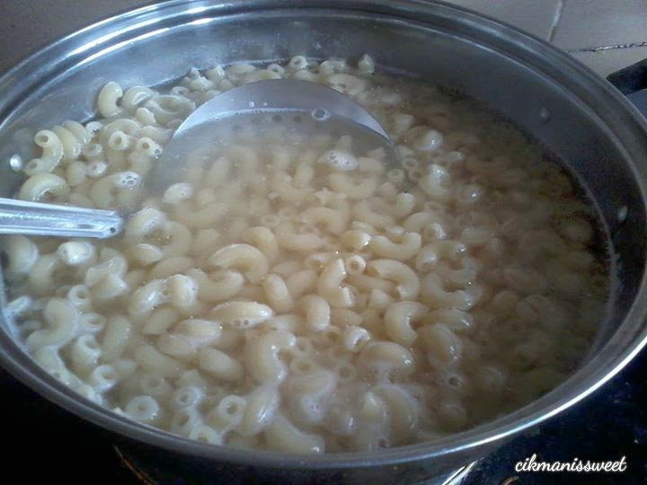 Resepi Macaroni Goreng