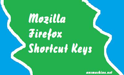 Mozilla Firefox Shortcut Keys