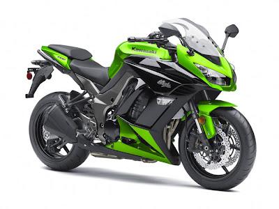 2012 Kawasaki Ninja 1000 front