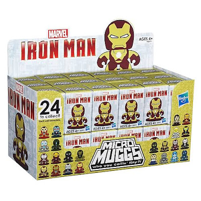Marvel's Iron Man 3 Micro Mighty Muggs Blind Box Series Case by Hasbro