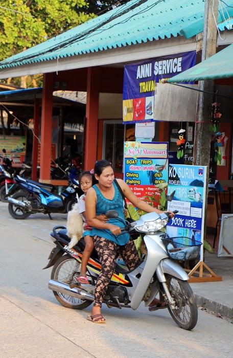 Roller auf Ko Phayam