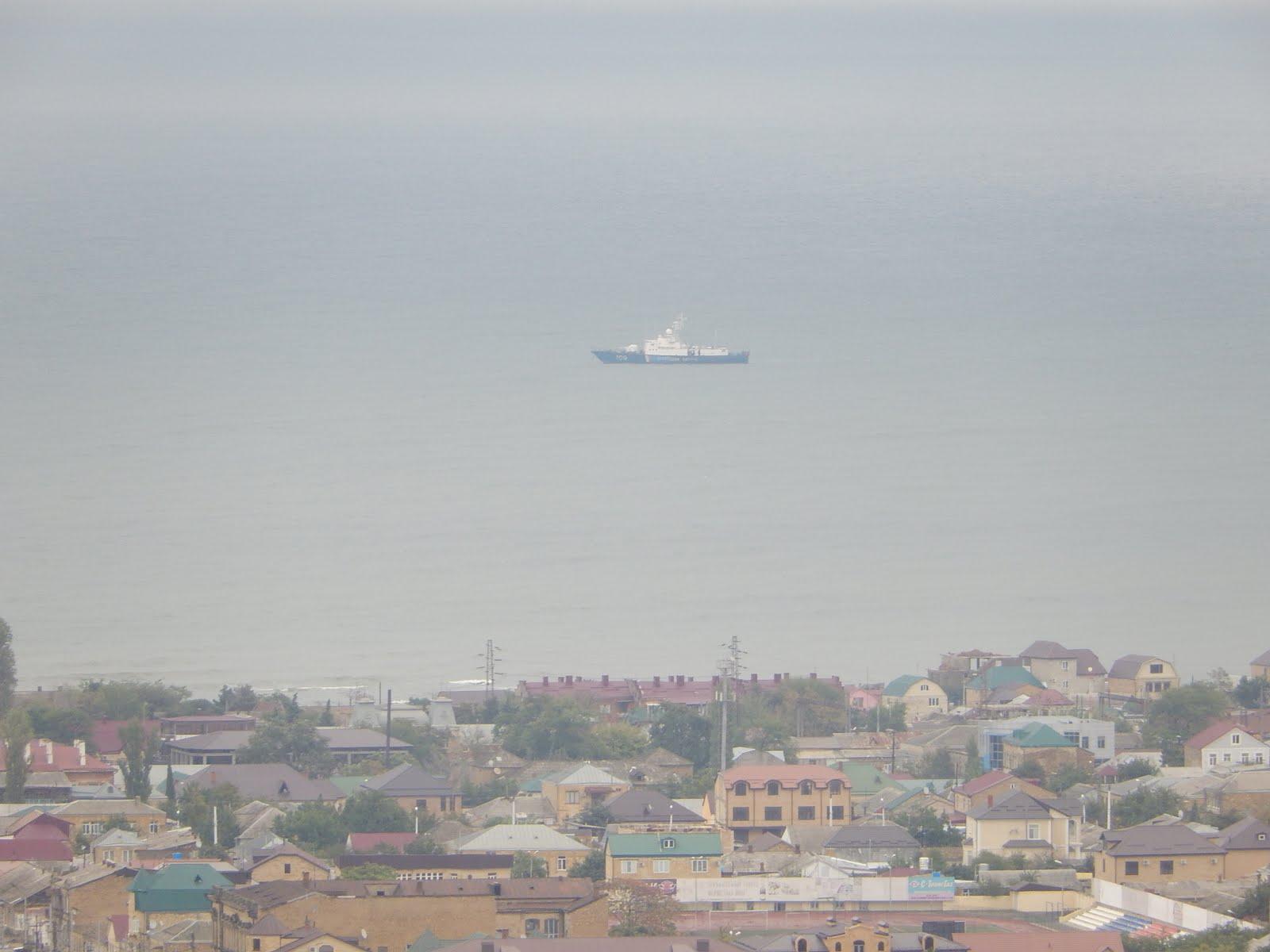 Вид с крепости Нарын-Кала