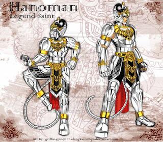 Kartun Wayang Hanoman Super Saiya Legend