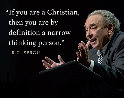 A Christian...a narrow thinking person