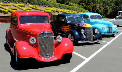 vintage Ford hot rods