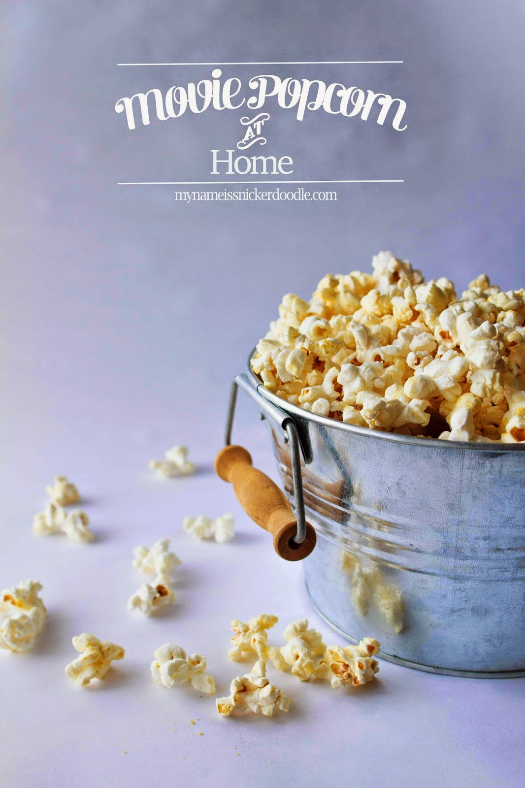 Make Movie Popcorn At Home | My Name Is Snickerdoodle