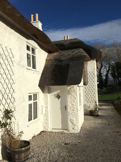 Thatched Cottage Front Door