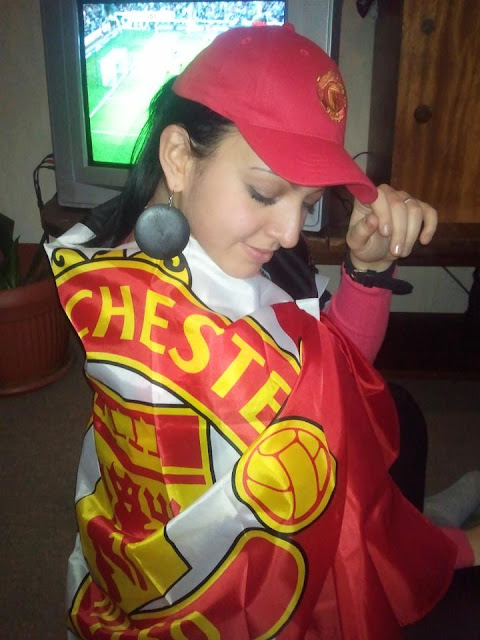 Manchester United fan from Bulgaria