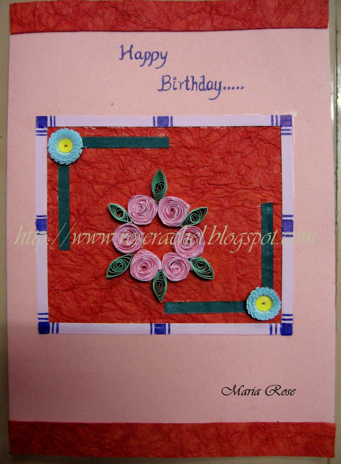 Leisure Space A Simple Birthday Card