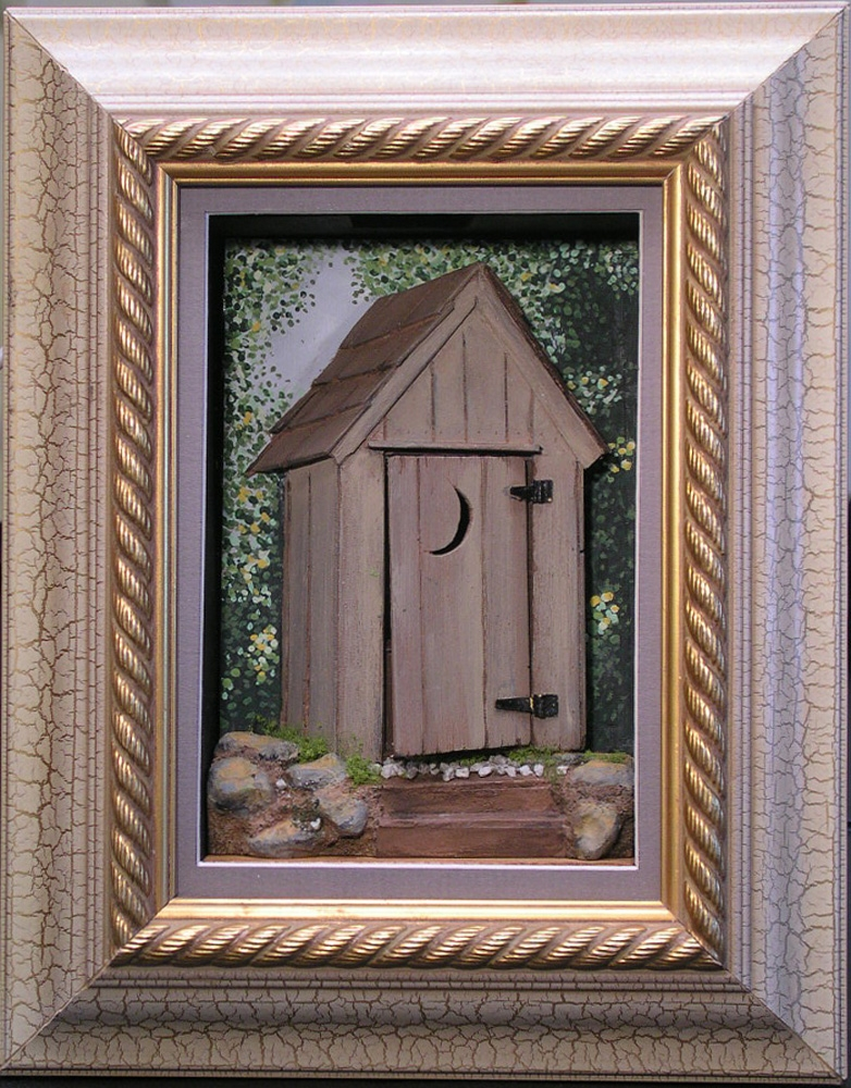 The American Privy (Outhouse) & Good Sam Showcase of Miniatures: At the Show - Outhouse and Art Doors Pezcame.Com