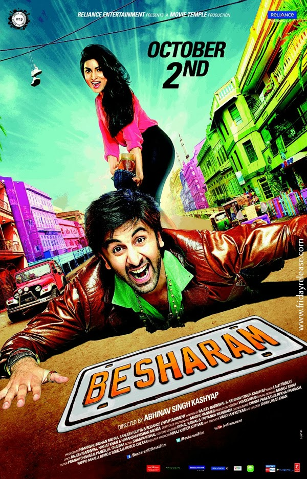 Watch Besharam (2013) Hindi Full Movie Watch Online For Free Download