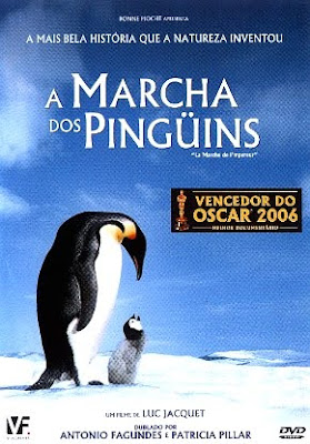 Filme Poster A Marcha Dos Pingüins DVDRip XviD & RMVB Dublado