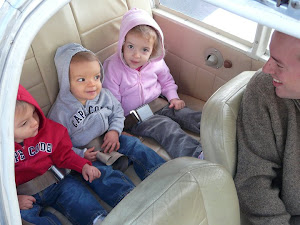 Grandkids' First Airplane Ride