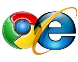 quale browser funziona meglio tra Chrome e IE?