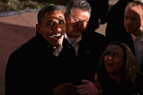 Hình ảnh chế hài hước của Obama - Cảm xúc vui, obama het to