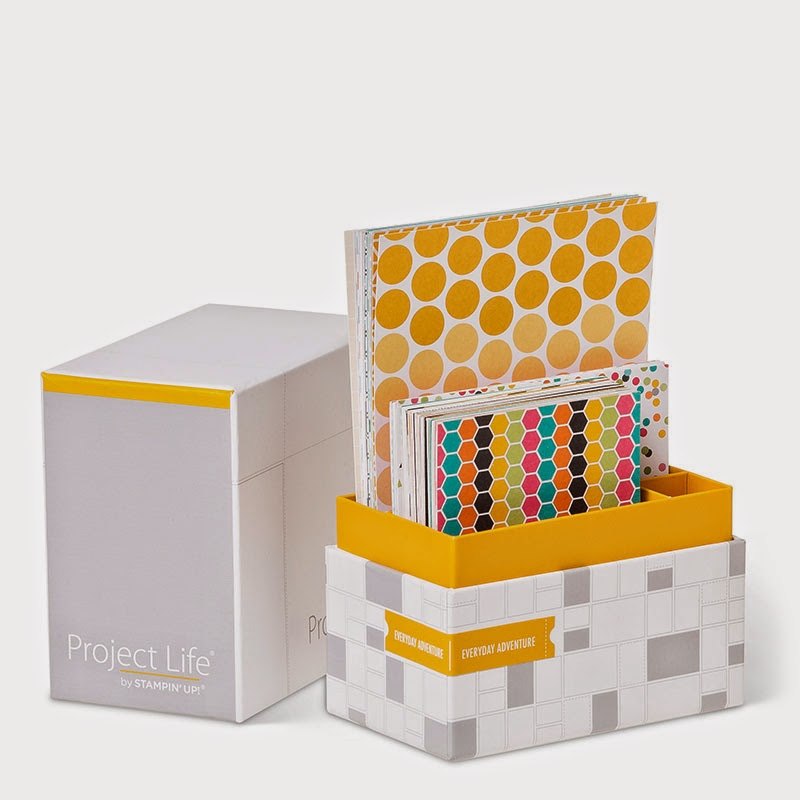 Buy Project Life card collections from UK stampin' Up demonstrator Vicky Hayes