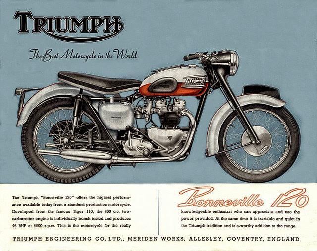 1959 And 1960 Bonneville Comparison Triumph