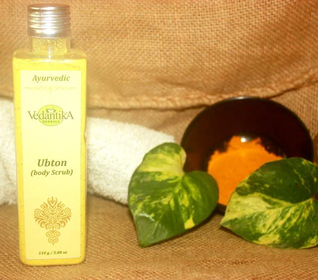 Vedantika Herbals Ayurvedic Ubton (Body Scrub) Review