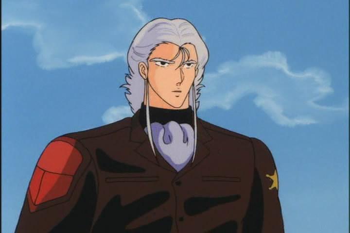 ... a jeho archnemesis, zástupce prozemských sil. Taky solidní valcha, co?