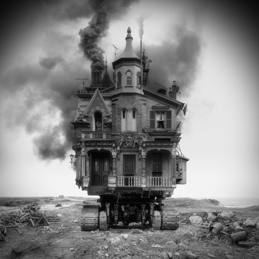 09-Untitled-Vehicle-Jim-Kazanjia-Surreal-Architectural-Photo-Collages-www-designstack-co
