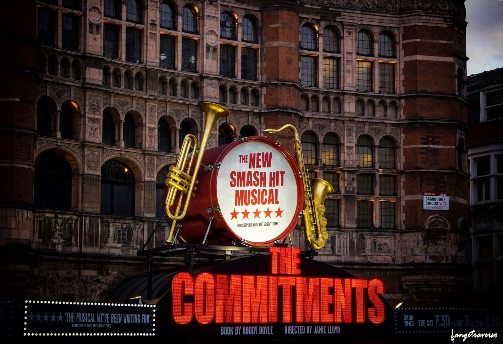 Musical comedy in London