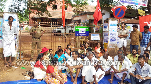 Strike, CPM Worker, Woman, Kasaragod, Kerala, Kerala News, International News, National News, Gulf News, Health News.
