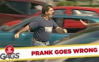 Funny Video – Prank Goes WRONG (Actor Almost Knocked Out)