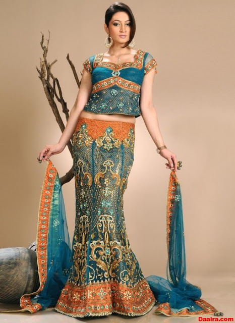 Fish-Cut-Choli-Lehnga