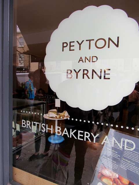 peyton and byrne london coffee shop bakery greenwich summer blog