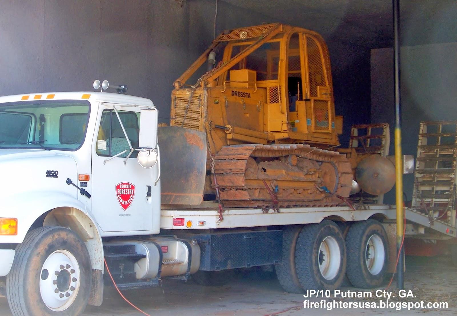 Fire Dept. Trucks GA. FL. AL. Rescue Station Firemen Volunteer ...
