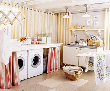 Beauty 4 Ashes: Inspiration Files: A Basement Laundry