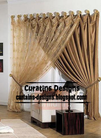 Contemporary curtain ideas 2013 interior door curtain design ...