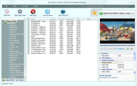 Any Video Converter Ultimate v4.5.7 portable