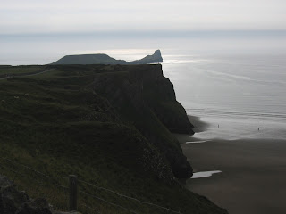 Worms Head view 5.8.2004 Jill Evans