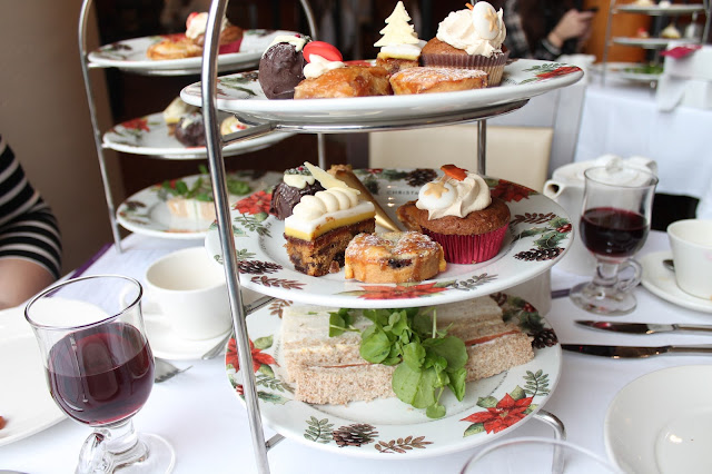 christmas afternoon tea at the celtic manor 2015
