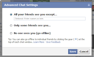 Facebook Chat Bar