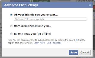 Facebook Chat Bar