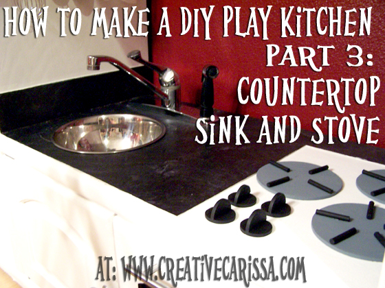 How to Make a DIY Play Kitchen Part 3: How to Make the Sink ...