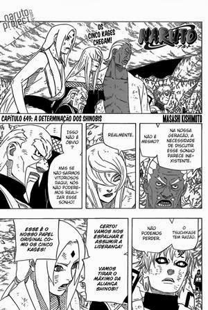 Naruto Mangá 649 Português