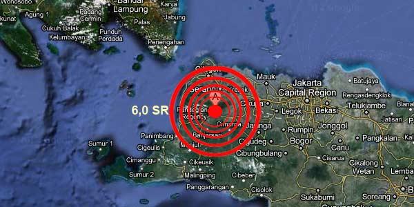 Gempa Pandeglang 6.0 SR